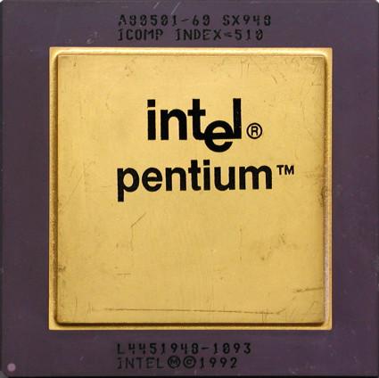 Eski dost INTEL Pentium :D